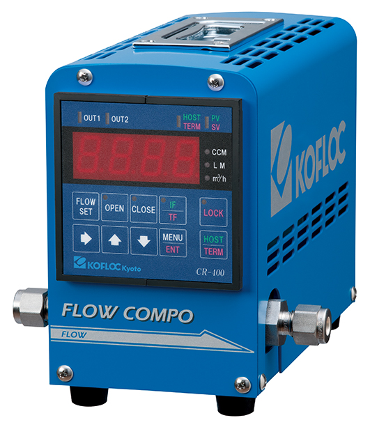 Compact Handy Mass Flow Control/Measurement Unit