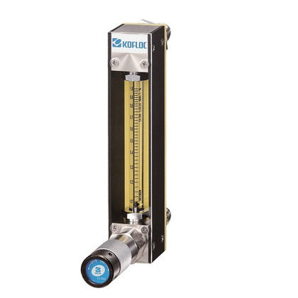 Flowmeter with Bellows Needle Valve